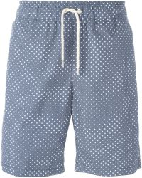 Soulland - 'fairplay' Dotted Shorts - Lyst