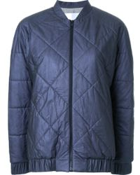 Scanlan Theodore - Quilted Bomber Jacket - Lyst