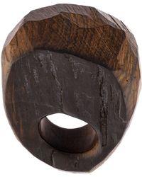 Monies - Cuban Mahogany Ring - Lyst