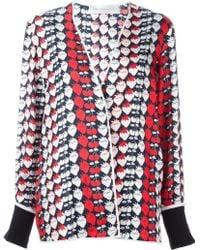Victoria, Victoria Beckham - Strawberry Print Pyjama Jacket - Lyst