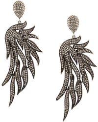 Carole Shashona - 'fire Wing' Diamond Earrings - Lyst