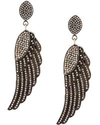 Carole Shashona - 'the Soul Wing' Diamond Earrings - Lyst