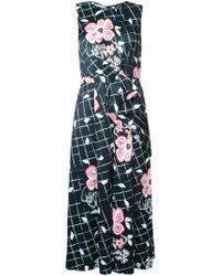 Raoul   Floral Grid Print Jumpsuit   Lyst