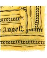 Palm Angels - Geometric Print Scarf - Lyst