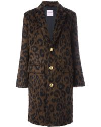 Palm Angels - Leopard Print Coat - Lyst