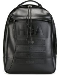 Hood By Air - Embossed Logo Backpack - Lyst