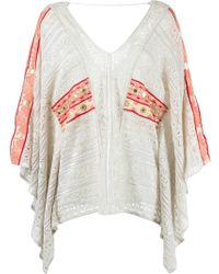 Cecilia Prado - - Knitted Kaftan - Women - Acrylic/polyester/viscose - Pp - Lyst