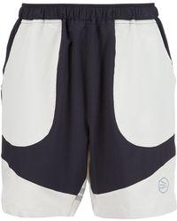 Brandblack - Colour Block Track Shorts - Lyst