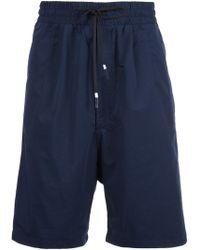 Brandblack - Drawstring Drop Crotch Shorts - Lyst