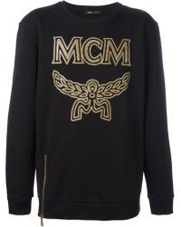 MCM - Logo Print Sweatshirt - Lyst