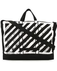 Off-White c/o Virgil Abloh | Striped Tote | Lyst
