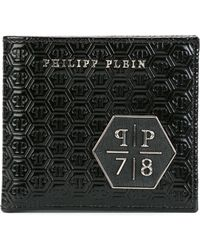 Philipp Plein - Logo Embossed Wallet - Lyst