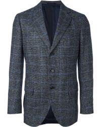 Cesare Attolini - Windowpane Tweed Blazer - Lyst