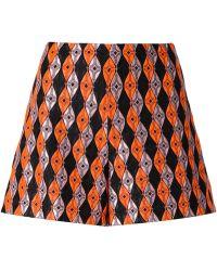Giamba - Patterned Shorts - Lyst