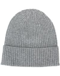 Closed - Ribbed Beanie Hat - Lyst