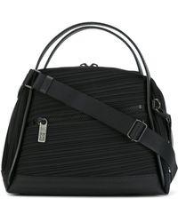 Pleats Please Issey Miyake - Handbag With Front Zip - Lyst