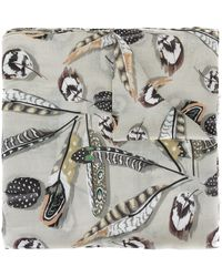 Paul & Joe - Feather Print Scarf - Lyst