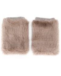 Urbancode - Furry Cuffs - Lyst