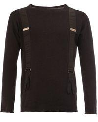 Greg Lauren - Suspenders Effect Longsleeved T-shirt - Lyst