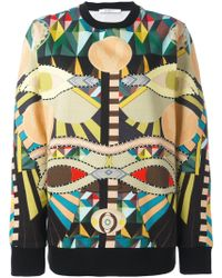 Givenchy - 'crazy Cleopatra' Print Sweatshirt - Lyst