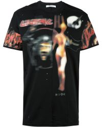 Givenchy - 'heavy Metal' Pieced T-shirt - Lyst