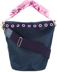 MUVEIL   Floral Strap Bucket Tote   Lyst