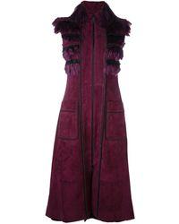 Jitrois | 'yoko' Sleeveless Coat | Lyst