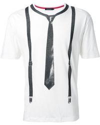 Loveless - Trompe L'oeil T-shirt - Lyst