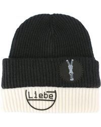 00a2b979a32 Maison Margiela - -  liebe  Beanie Hat - Men - Nylon wool -