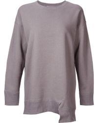 Astraet - Asymmetric Sweatshirt - Lyst