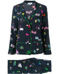 Mira Mikati | Printed Pyjama Suit | Lyst
