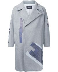 General Idea - Printed Single Breasted Coat - Lyst