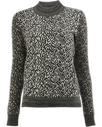ANREALAGE - Pixelated Effect Jumper - Lyst