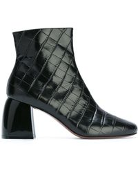 Sportmax - 'sibari' Quilted Ankle Boots - Lyst