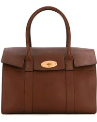 Mulberry - Gold-tone Hardware Medium Tote - Lyst