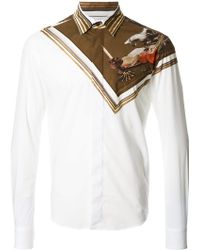 Yoshio Kubo - - Skull Print Long Sleeve Shirt - Men - Cotton - 3 - Lyst