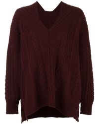 Mame - Cable Knit Jumper - Lyst