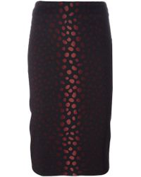 Samantha Sung - Jacquard Pencil Skirt - Lyst