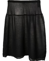 Issey Miyake Cauliflower - See Through Skirt - Lyst