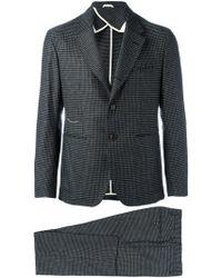 Al Duca d'Aosta - - Patterned Two Piece Suit - Men - Cotton/virgin Wool - 54 - Lyst