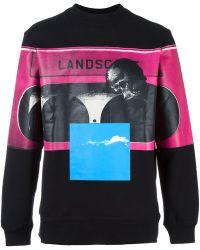 Cy Choi - Printed Sweatshirt - Lyst
