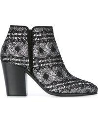 Giuseppe Zanotti - Chunky Heel Ankle Boots - Lyst