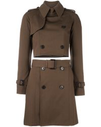Jean Paul Gaultier - Two Piece Trenchcoat - Lyst
