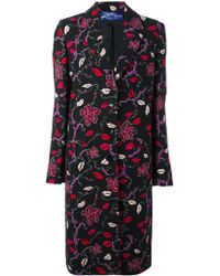 Emilio Pucci - Printed Single Breasted Coat - Lyst