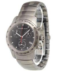 Porsche Design - 'p10 Chronograph Black' Analog Watch - Lyst