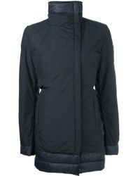 Save The Duck - Double Breasted Padded Coat - Lyst