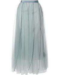 Dorothee Schumacher - Long Tulle Skirt - Lyst