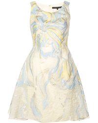 Rubin Singer - Iris Cloqué Dress - Lyst