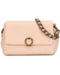 Agnona - Textured Shoulder Bag - Lyst