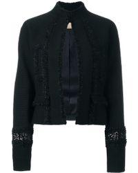 Pascal Millet - Sequin Embellished Cropped Jacket - Lyst